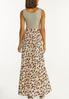 Plus Petite Stripe Animal Maxi Dress alternate view