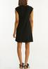 Black Ruffled Dress alternate view