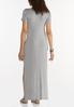 Plus Size Knotted Tee Maxi Dress alternate view