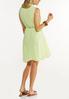 Plus Size Tiered Textured Dress alternate view