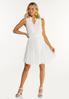 Plus Size Tiered Textured Dress alt view