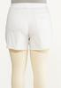 Plus Size Hint Of Eyelet Denim Shorts alternate view