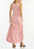 Solid Tiered Maxi Dress alternate view