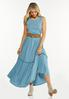 Solid Tiered Maxi Dress alt view