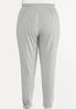 Plus Size Gray Ruched Pants alternate view