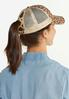 Leopard High Ponytail Hat alt view
