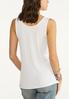 Plus Size Solid Ribbed Tank alternate view