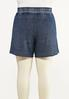 Plus Size Faded Navy Active Shorts alternate view