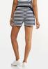 Navy Stripe Shorts alternate view