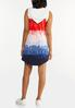 Plus Size Tie Dye French Terry Dress alternate view