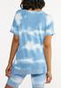 Plus Size Cloud Tie Dye Top alternate view