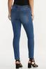 High- Rise Medium Wash Skinny Jeans alternate view