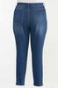 Plus Size High- Rise Medium Wash Skinny Jeans alternate view