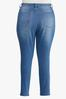 Plus Size Medium Wash Skinny Jeans alternate view
