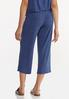 Cropped Vintage Blue Pants alternate view