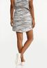 Plus Size Camo Skirt alternate view