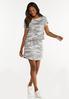 Plus Size Camo Skirt alt view