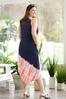 Plus Size Americana Tie Dye Midi Dress alternate view