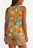 Apricot Floral Top alternate view