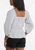 Dotted Off Shoulder Top alternate view