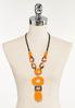Mixed Resin Statement Necklace alternate view