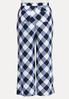 Plus Size Navy Gingham Pants alternate view
