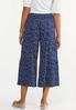 Cropped Navy Fields Pants alternate view