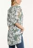 Plus Size Paisley Ladder Sleeve Top alternate view