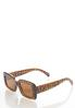 Tortoise Square Sunglasses alternate view