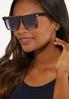 Black Square Sunglasses alternate view