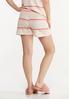 Striped Hacci Shorts alternate view