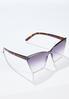 Tortoise Arm Cat Eye Sunglasses alt view