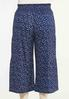 Plus Size Cropped Navy Fields Pants alternate view