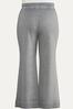 Plus Size Gray Flare Lounge Pants alternate view