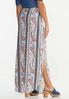 Paisley Button Front Maxi Skirt alternate view