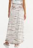 Plus Size Tie Dye Maxi Skirt alternate view