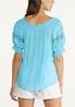 Puff Lace Sleeve Poet Top alternate view