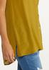 Olive Button Front Tunic alt view