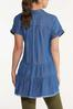 Chambray Tiered Tunic alternate view