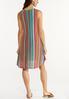 Plus Size Multi Stripe Ribbed Dress alternate view