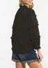 Plus Size Solid Ruffled Top alternate view