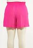 Plus Size Summer Berry Gauze Shorts alternate view