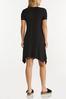 Plus Size Solid Cutout Shoulder Dress alternate view