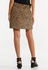 Leopard Mini Skirt alternate view