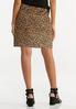 Plus Size Leopard Mini Skirt alternate view