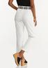 Breezy White Belted Pants alternate view