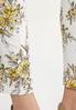 Sketch Floral Bengaline Pants alt view