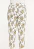 Plus Size Sketch Floral Bengaline Pants alternate view