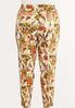Plus Size Fresh Floral Ankle Pants alternate view