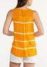 Plus Size Citrus Tie Dye Tank alternate view